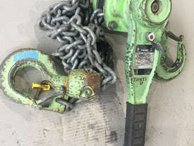 Loadset Chain Hoist Lift Block and tackle 1.5 Tonne x 3 metre chain - picture2' - Click to enlarge