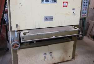 * Barker wide belt sander, 950mm, 120mm height, 3 phase plug in (single Head)