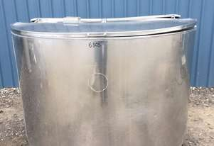 1,600ltr Insulated Stainless Steel Tank, Milk Vat