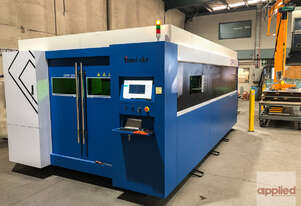 ~ New Price Point ~  Yawei-CKY fiber laser - 1.5m x 3.0m bed, 1kW IPG, & Raytools cutting head