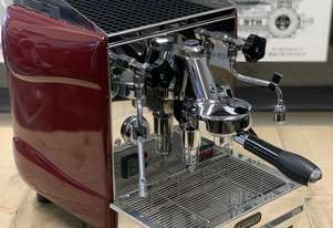 LA SCALA BUTTERFLY 1 GROUP RED ESPRESSO COFFEE MACHINE