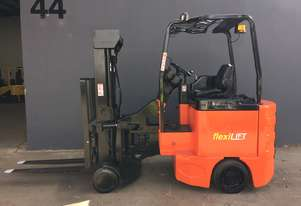Bendi B40 Series III Narrow Aisle Articulated Electric Container Mast Forklift - Refurbished