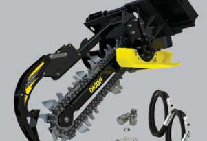 Digga Bigfoot Trencher 900mm with 200mm Combo Chain