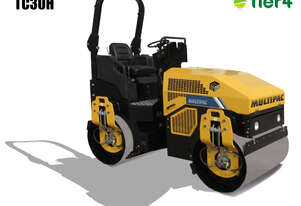 Multipac T30H Twin Drum Vibrating Roller