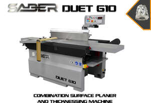 Saber Duet 610 Heavy Duty Simultaneous Surfacer/Thicknesser