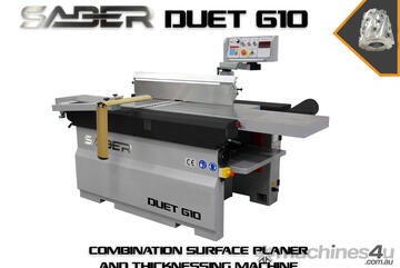 Download Flyer For Pricing - Saber Duet 610 Heavy Duty Simultaneous Surfacer/Thicknesser