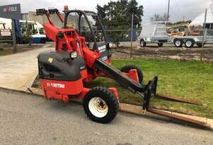 Forklift Manitou Telescopic Truck Mount With Tag Trailer 2.5 Tonne