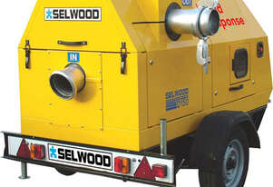 6 Inch Self-Prime Diesel Pump on Trailer for Hire | Sunshine Coast