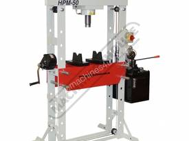 50 Ton Industrial Hydraulic Press HPM 50 - picture0' - Click to enlarge