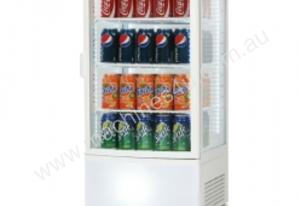 Bromic CT0080G4WC - Curved Glass 80L LED Drinks Fridge